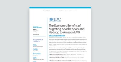 The Economic Benefits of Migrating Apache Spark and Hadoop to Amazon EMR